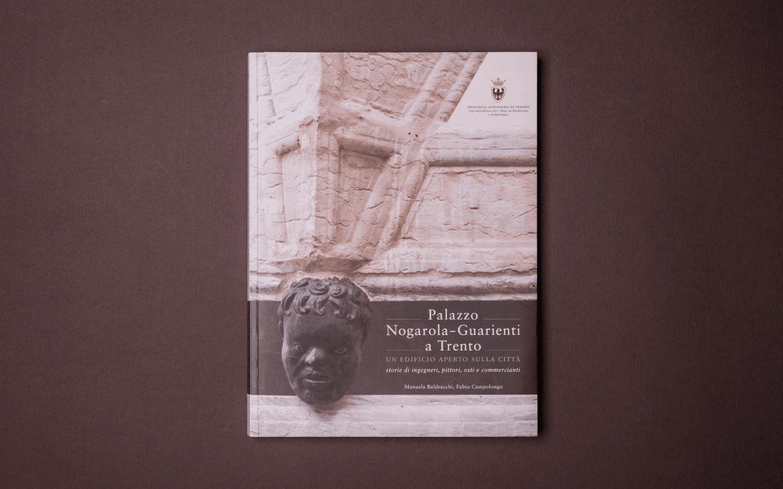 Copertina Monografia Palazzo Nogarola-Guarienti Trento