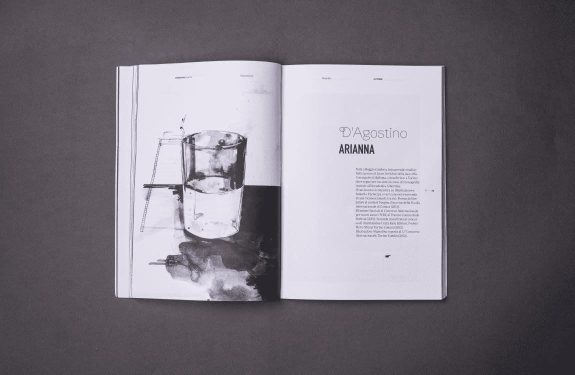 Print Bee Positivo e Negativo pagine illustratori
