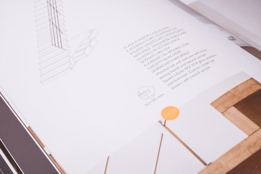 Catalogo Idea Scale dettagli interni