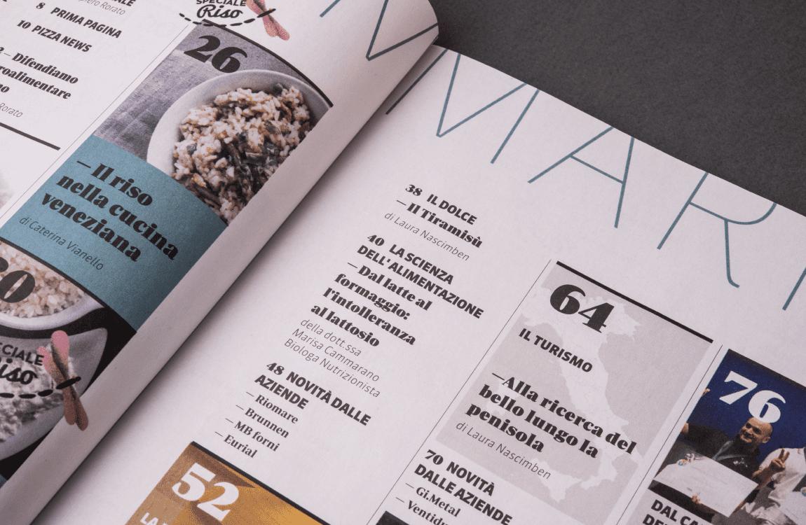 Rivista Pizza e Pasta Italiana dettaglio sommario