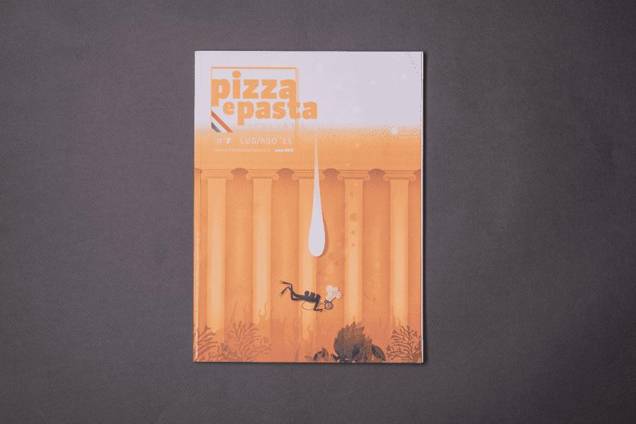 Rivista Pizza e Pasta Italiana copertina