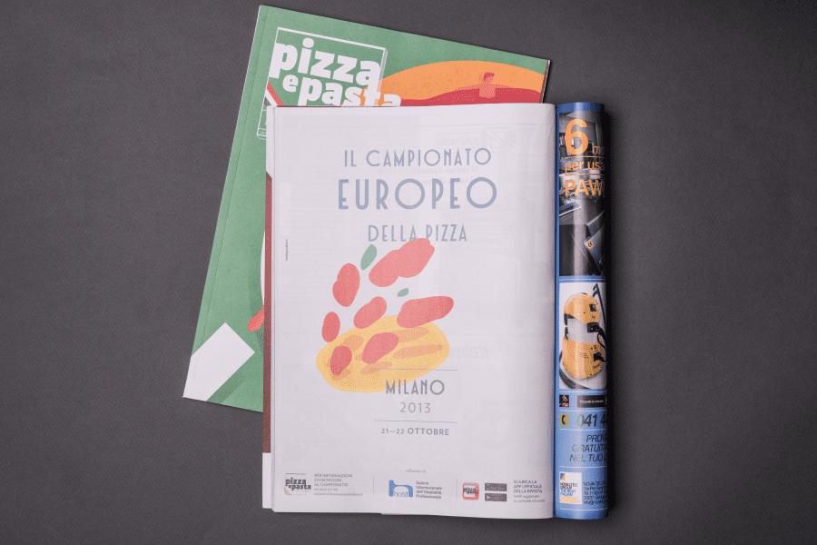 Rivista Pizza e Pasta Italiana Campionato Europeo