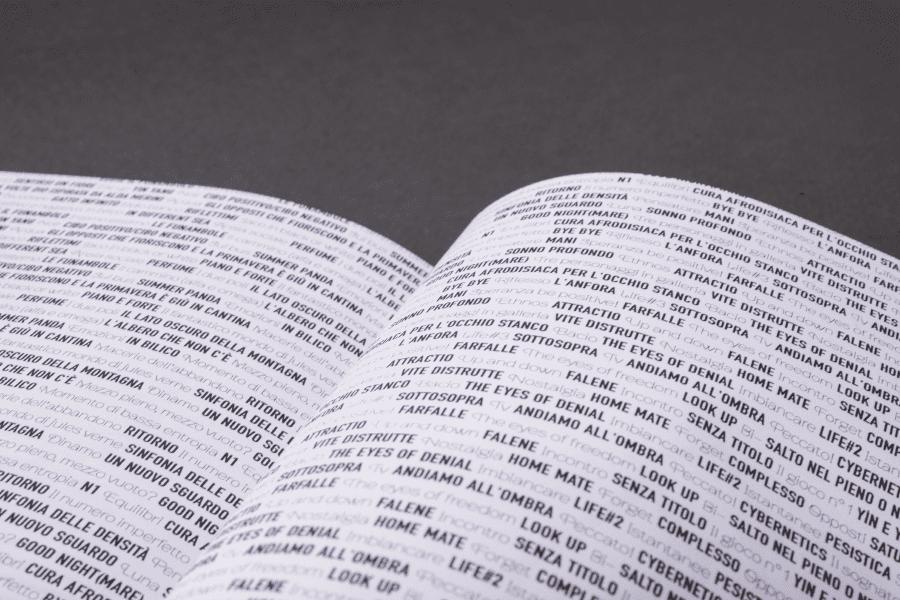Editorial Design dettaglio tipografia 2