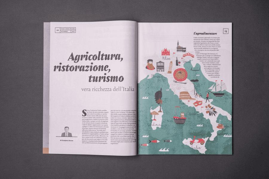 Rivista Pizza e Pasta Italiana pagine interne 3
