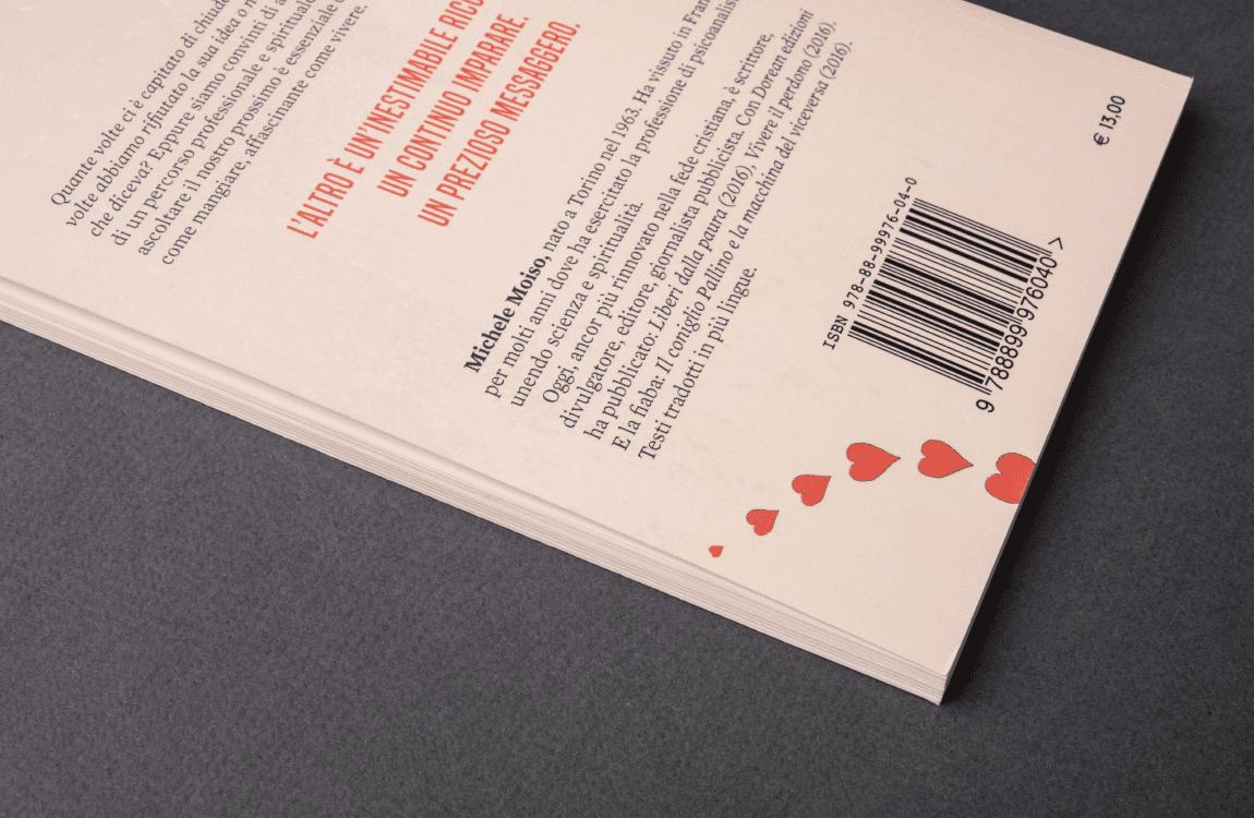Dettaglio retro libro Dorean Edizioni