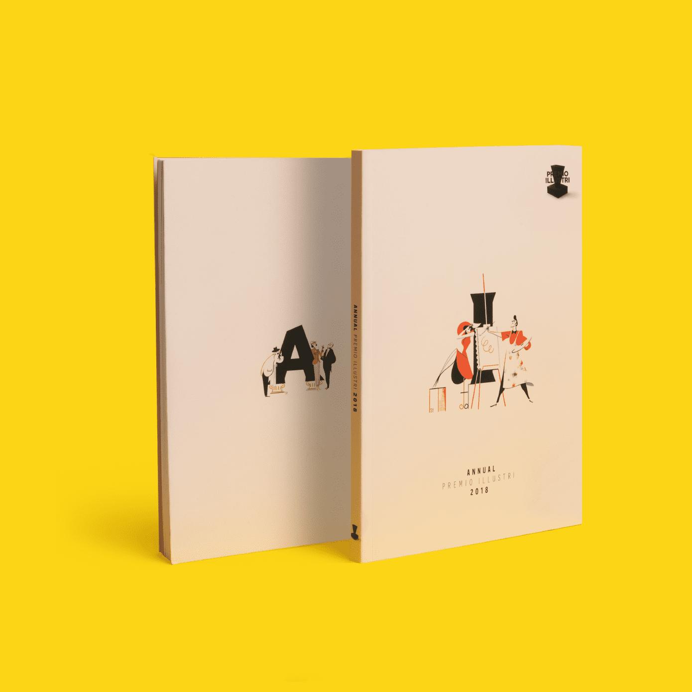 annual illustri 2018 design editoriale