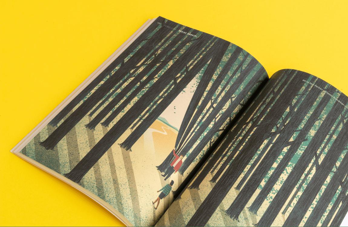 annual illustri doppia pagina