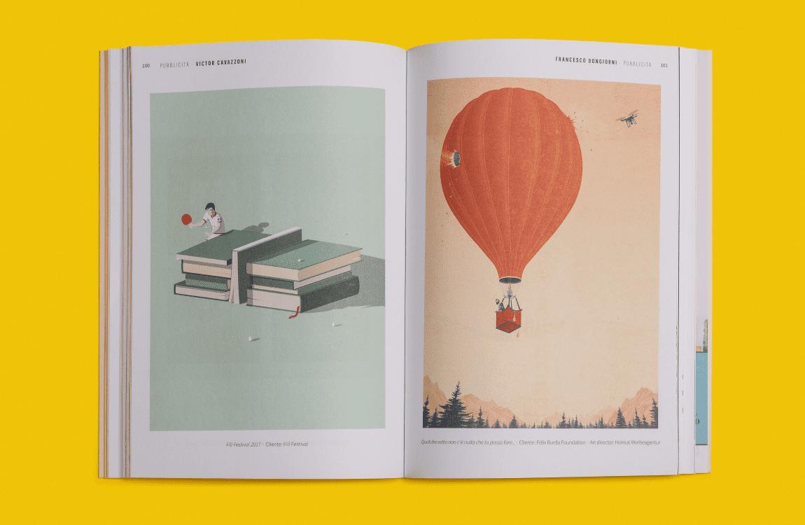 design editoriale annual illustri 2018