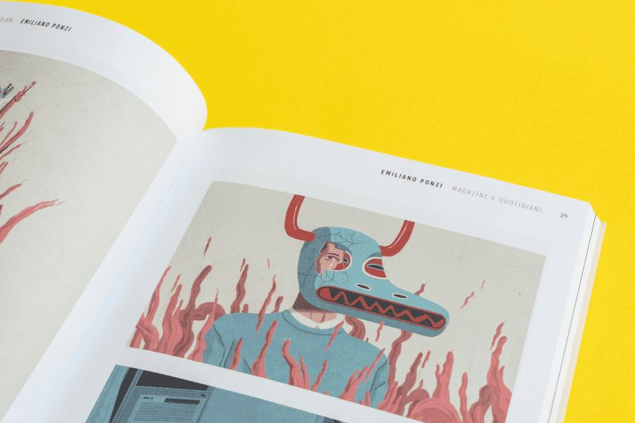 design editoriale annual illustri