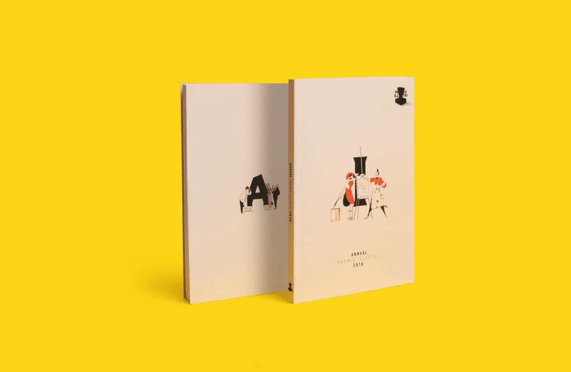 editorial design annual illustri