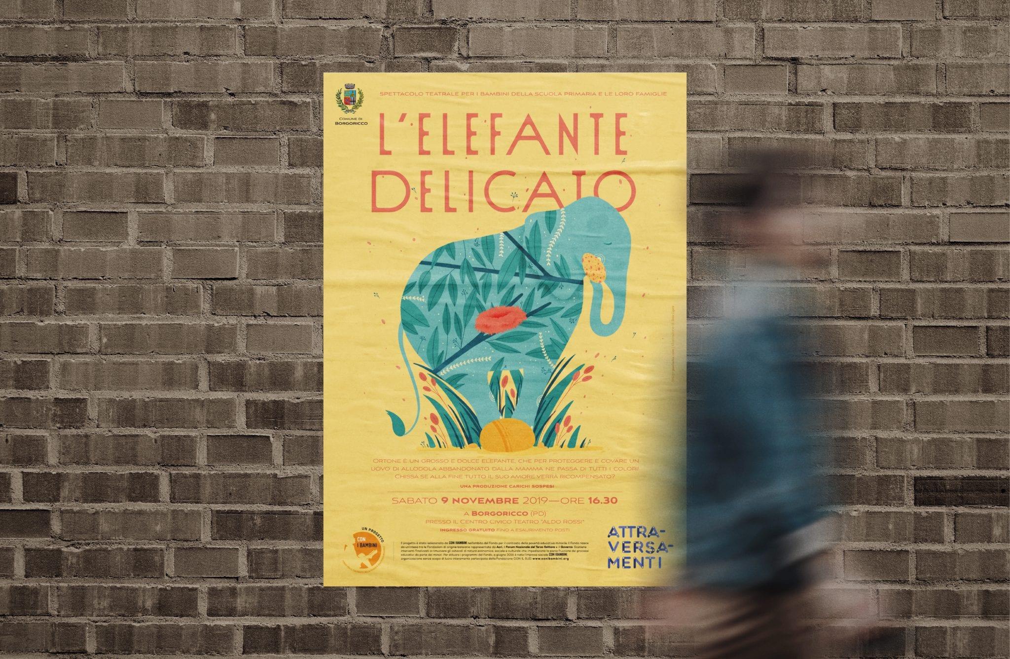 Elefante delicato-locandina