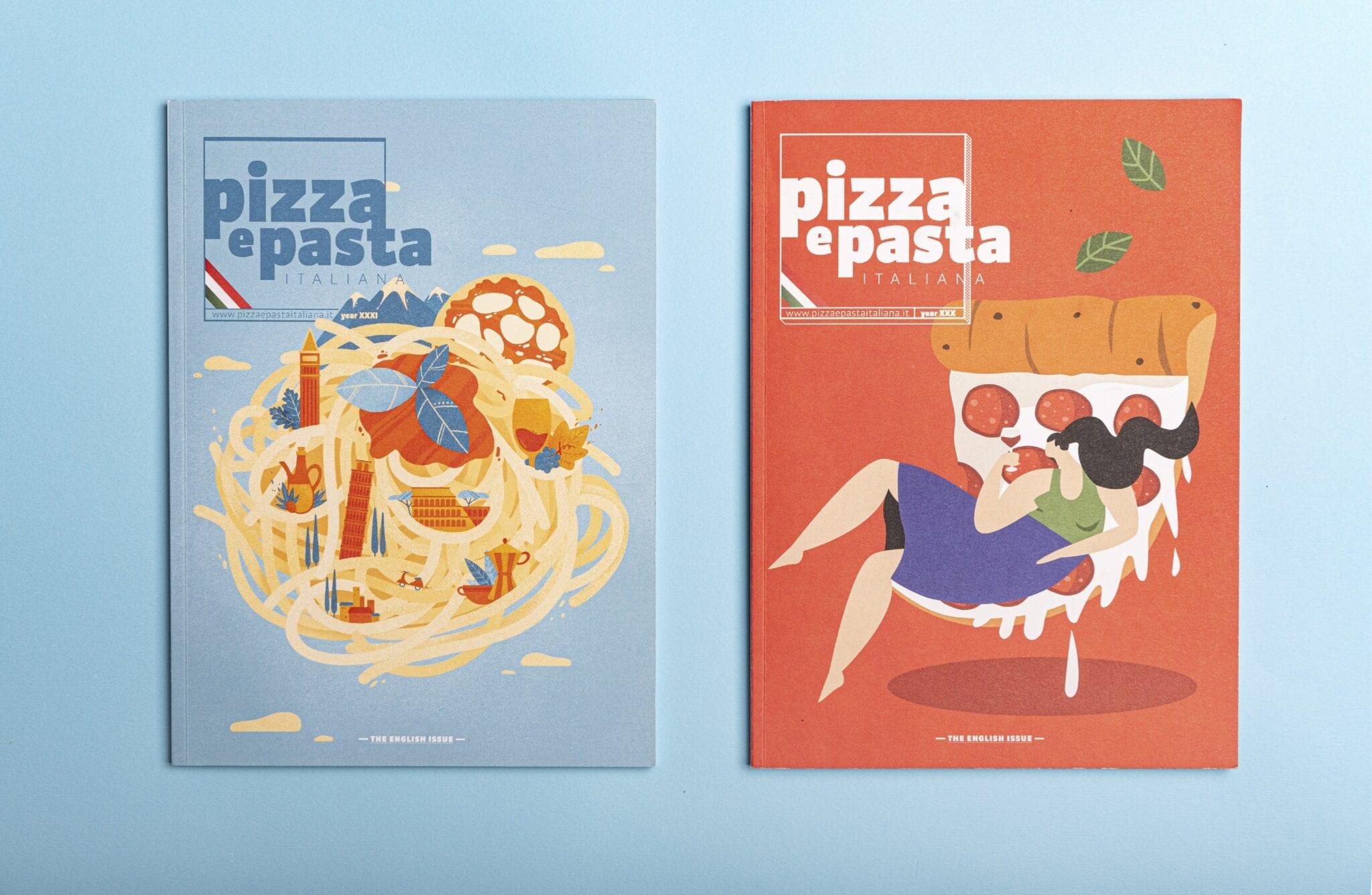 PIZZA E PASTA_copertine